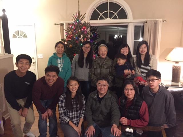 2016年聖誕節感恩聚會
